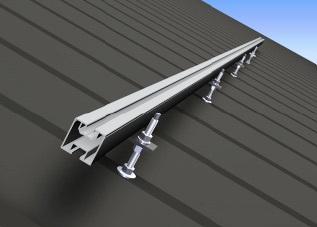 Suport De Montaj Pe Acoperis Tabla 200mm Fotovoltaicshop Ro